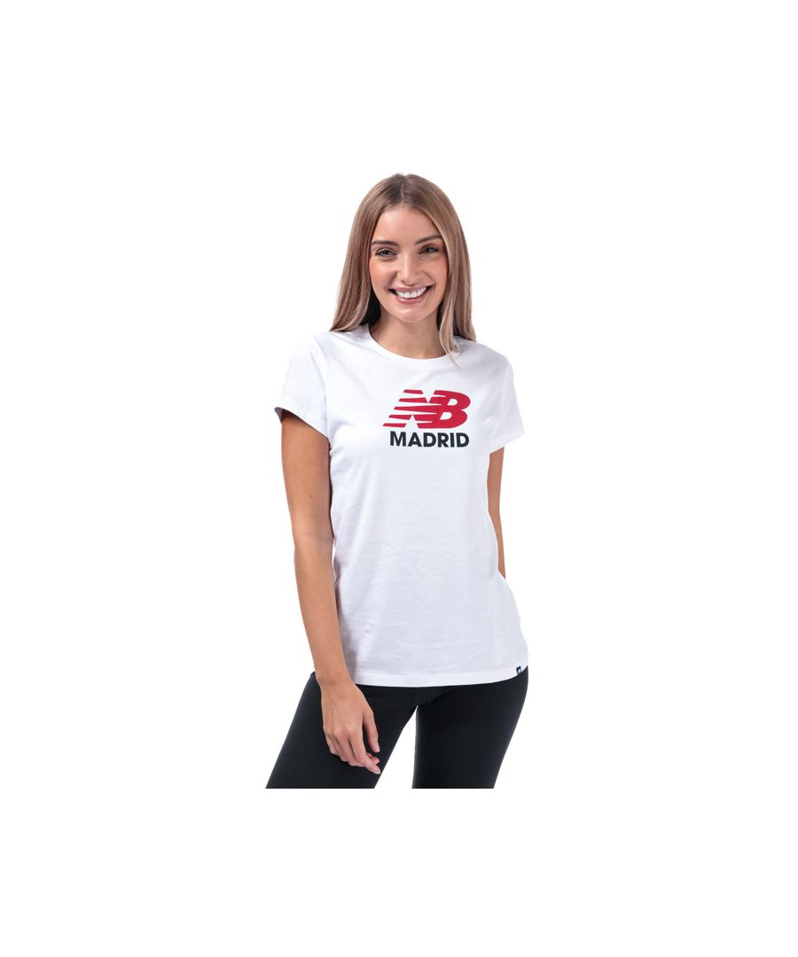 Image for Women's New Balance Madrid T-Shirt in White