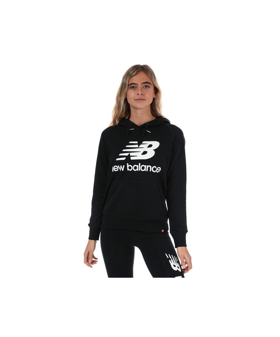Image for Women's New Balance Essentials Pullover Hoody in Black