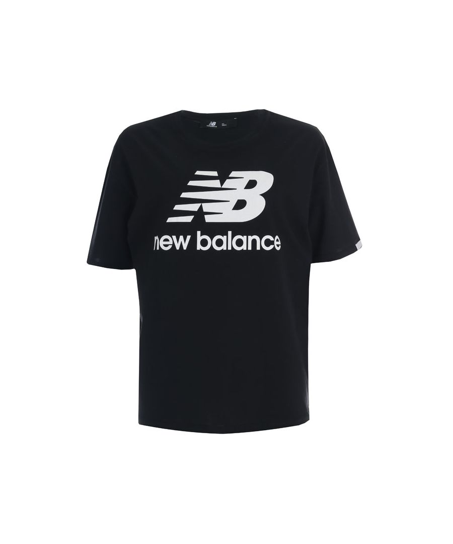 Image for Women's New Balance Essentials T-Shirt in Black