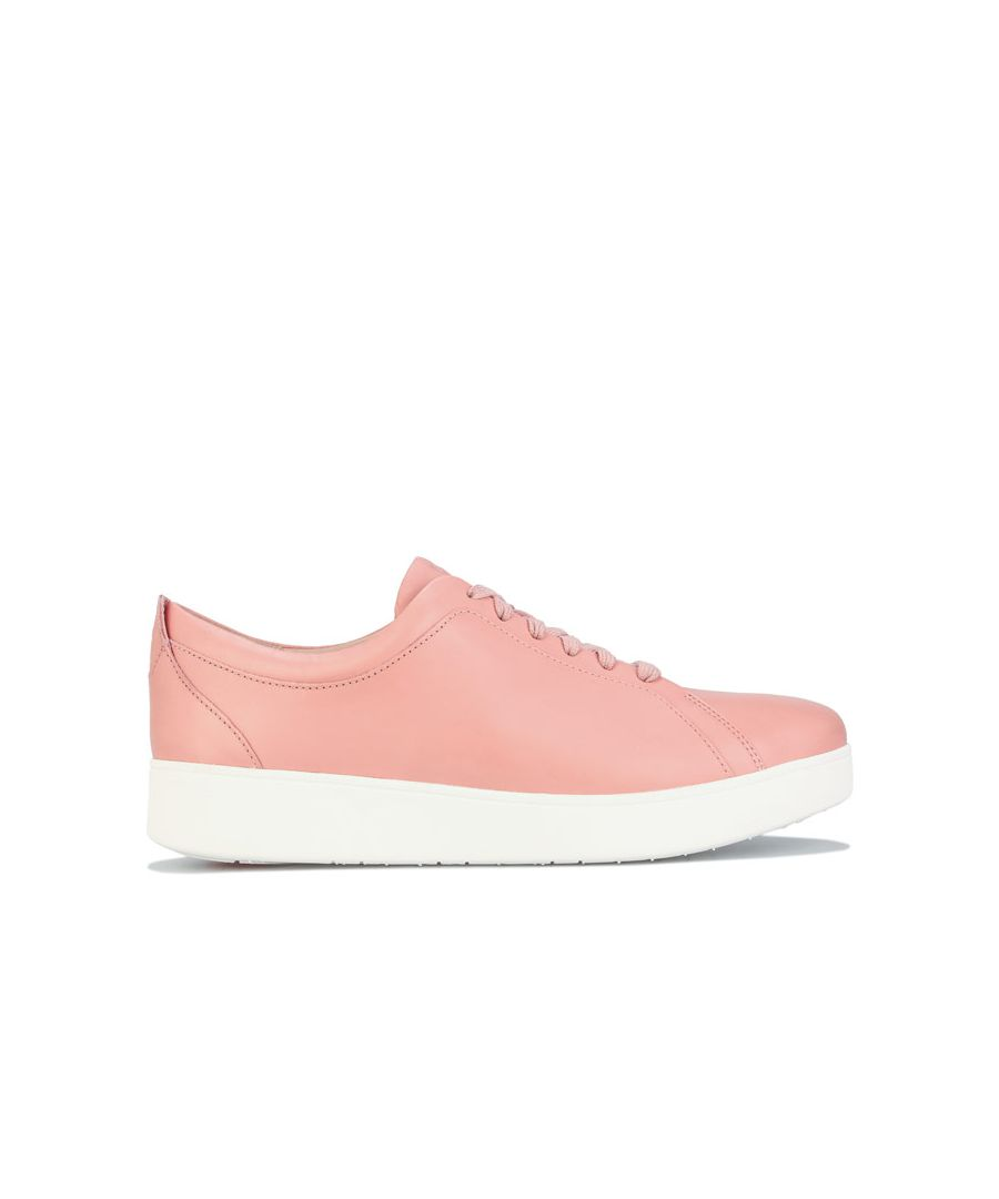 Image for Women's Fit Flop Rally Sneakers Rose UK 3in Rose