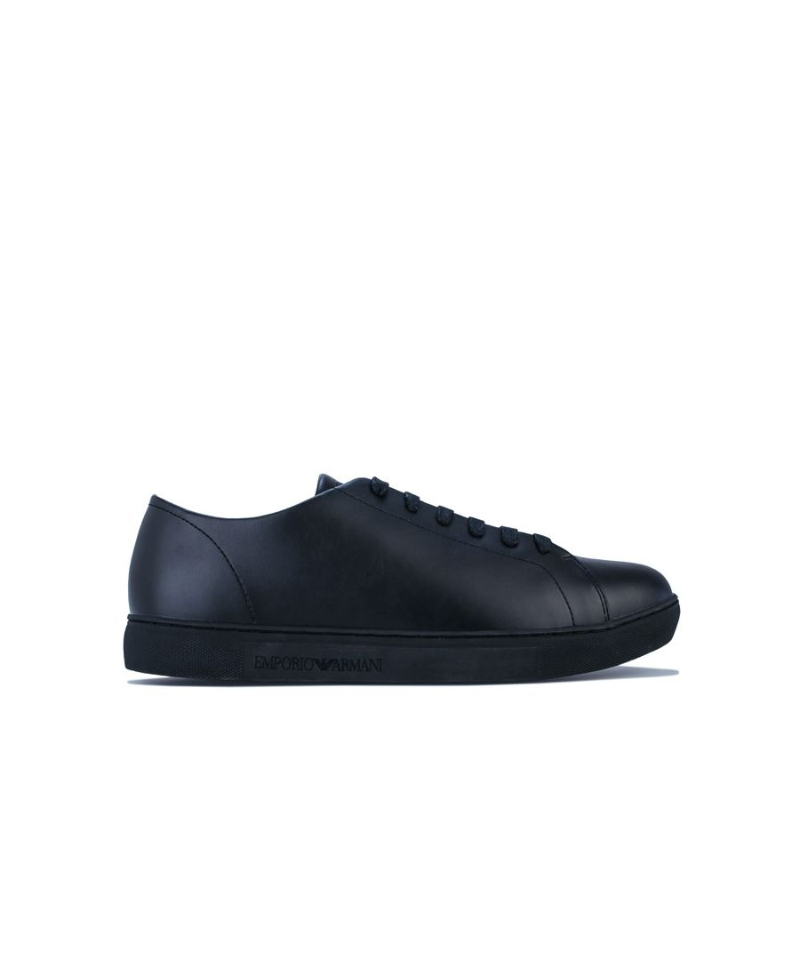 Image for Men's Armani Stanlth Trainers in Black