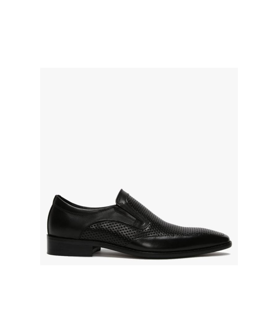 Image for Daniel Xanthins Leather Laser Cut Loafers