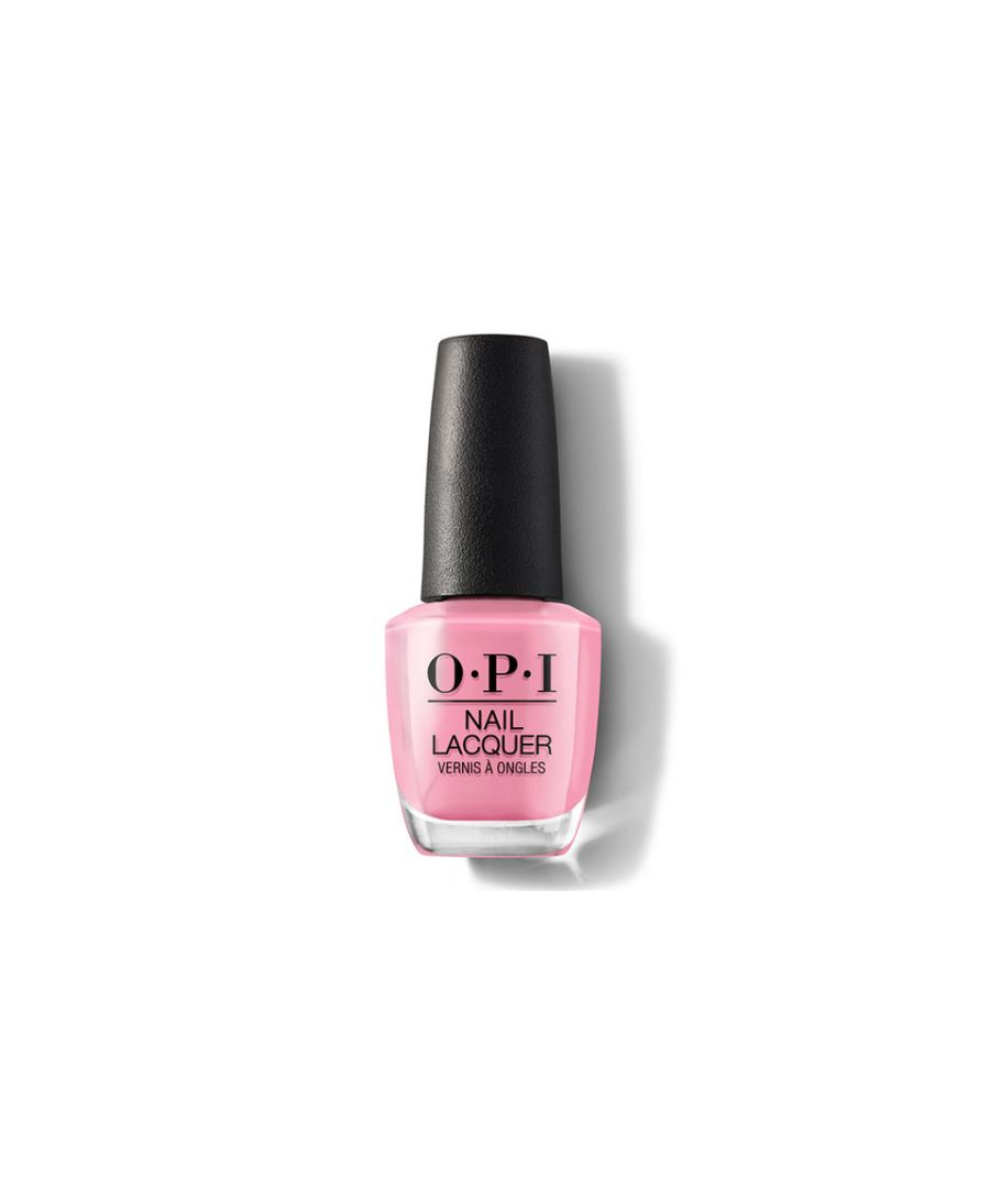 Image for OPI Nail Lacquer Nail Polish Lima Tell You About This Colour x 15ml