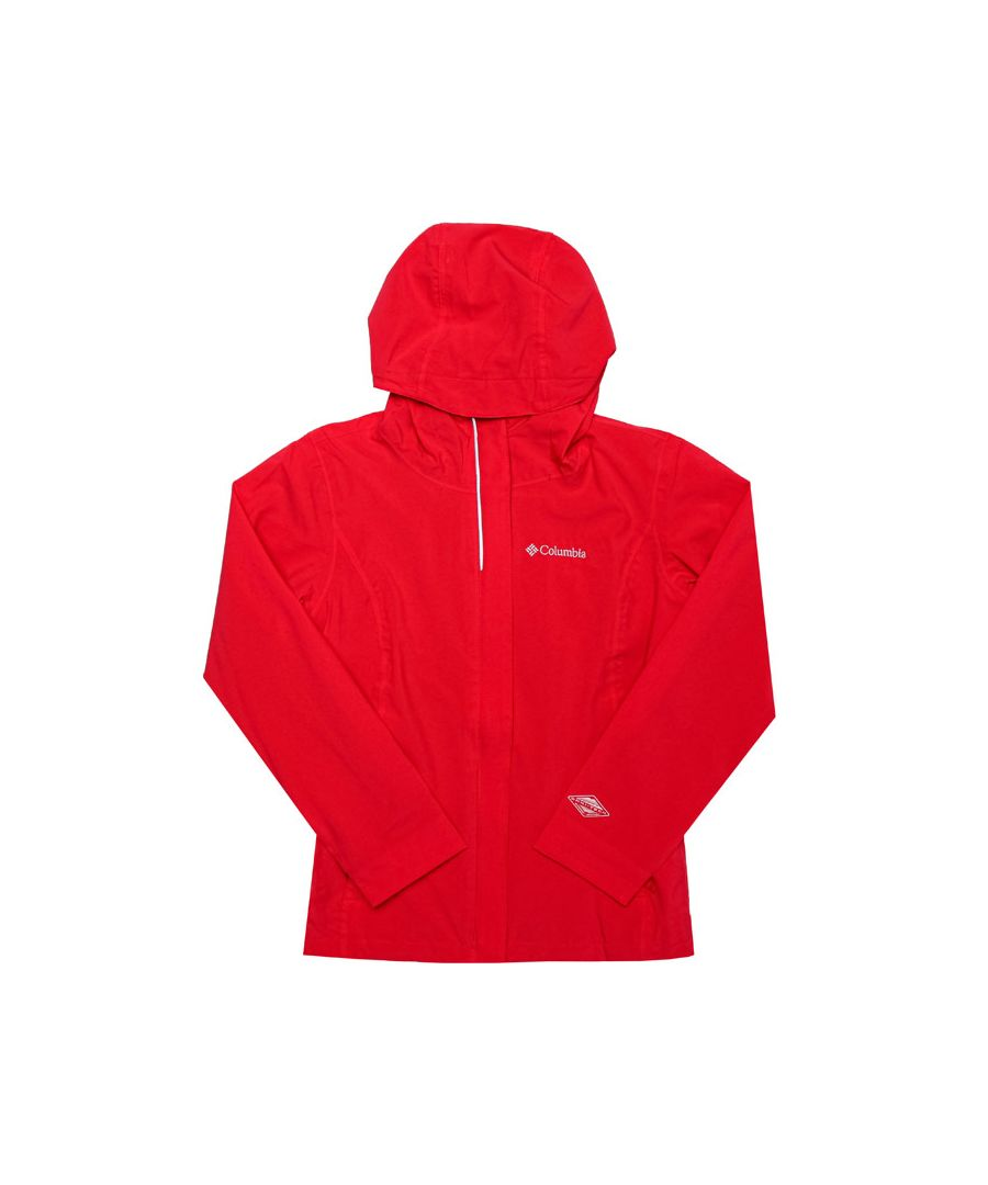 Image for Boy's Columbia Junior Whibdey Island Jacket in Red