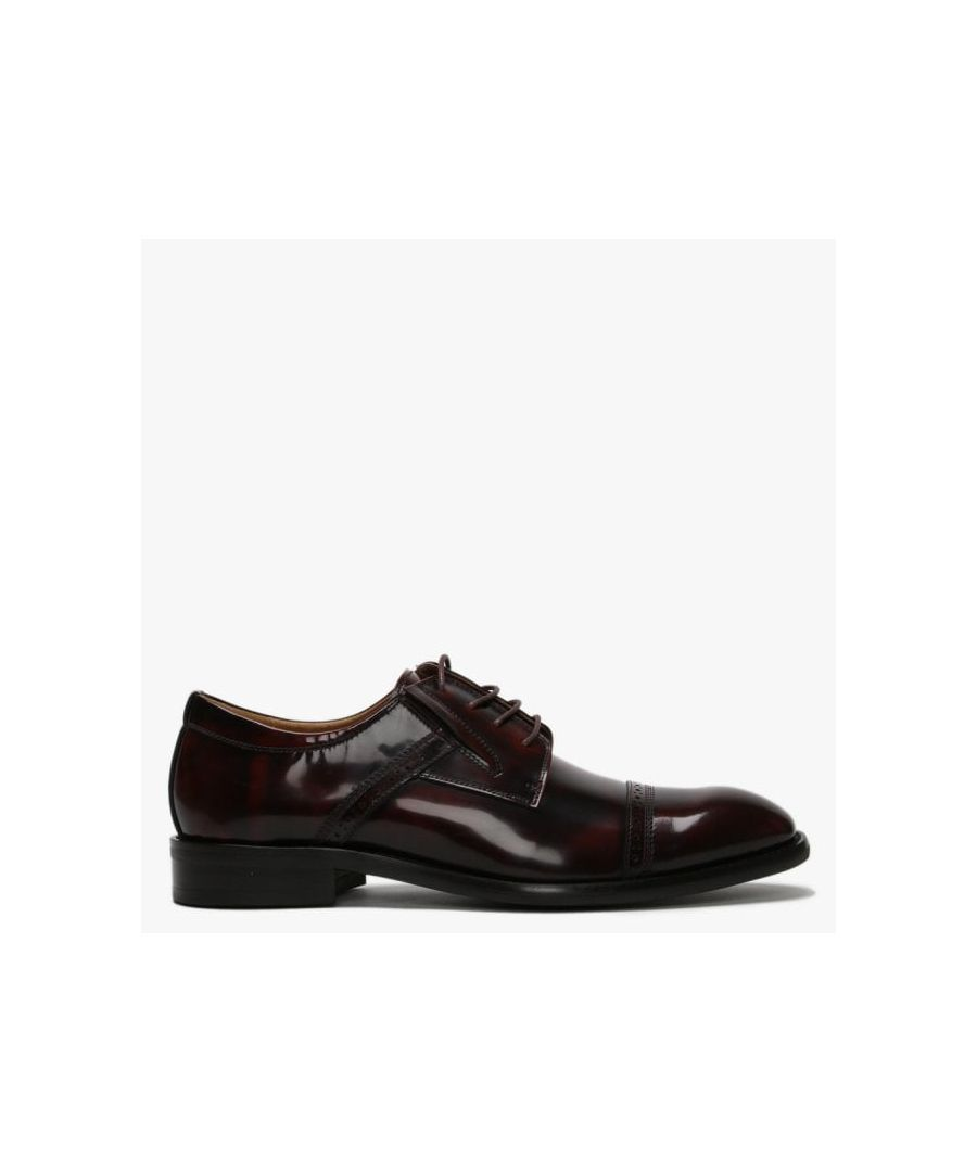 Image for Daniel Xlol Patent Leather Lace Up Brogues