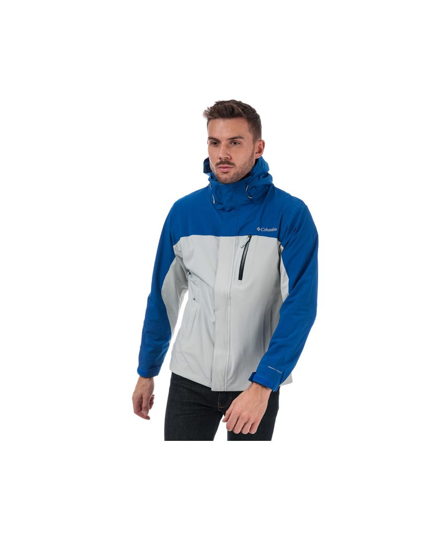 Image for Men's Columbia Whidbey Island Jacket in Grey blue