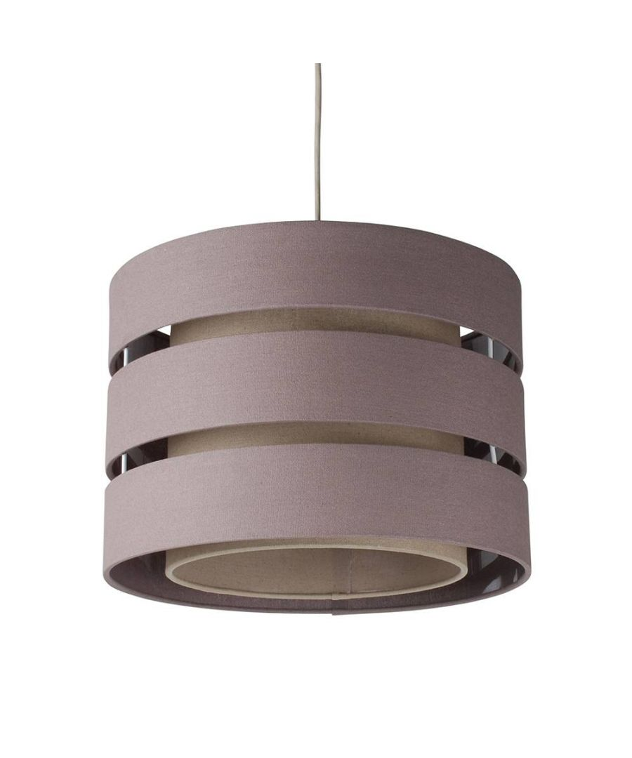 Image for Baako Pendant Light Shade 35cm Grey