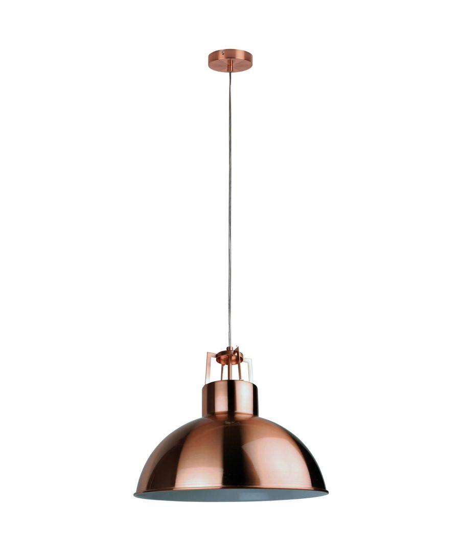 Image for Bankin Pendant Ceiling Light Copper