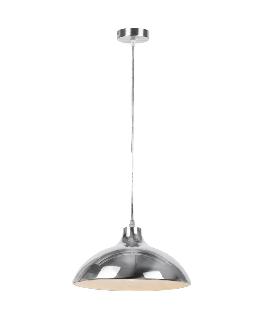Image for Naoki Pendant Ceiling Light Small Polished Chrome