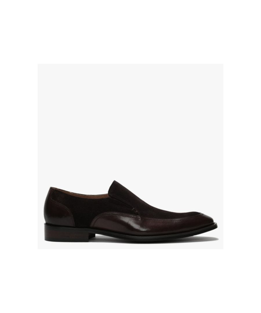 Image for Daniel Xyle Leather & Suede Loafers