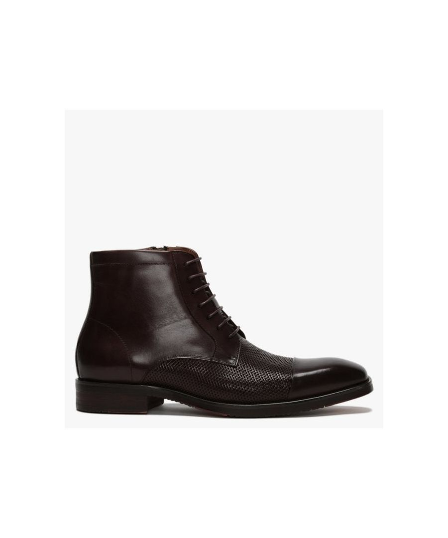 Image for Daniel Xyster Textured Leather Ankle Boots