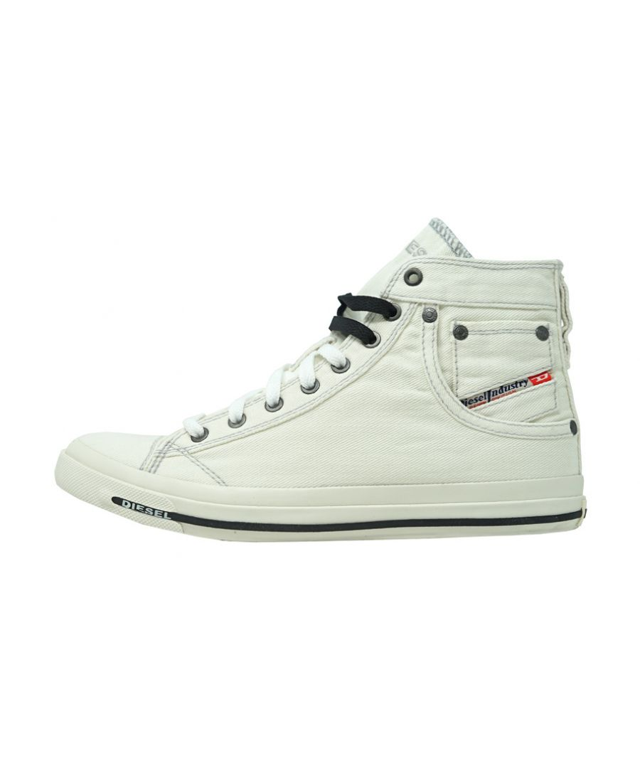 Image for Diesel Exposure I High Top White Sneakers
