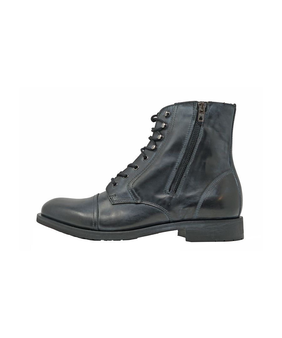 Image for Diesel D-SERBERHUS Black Ankle Boots