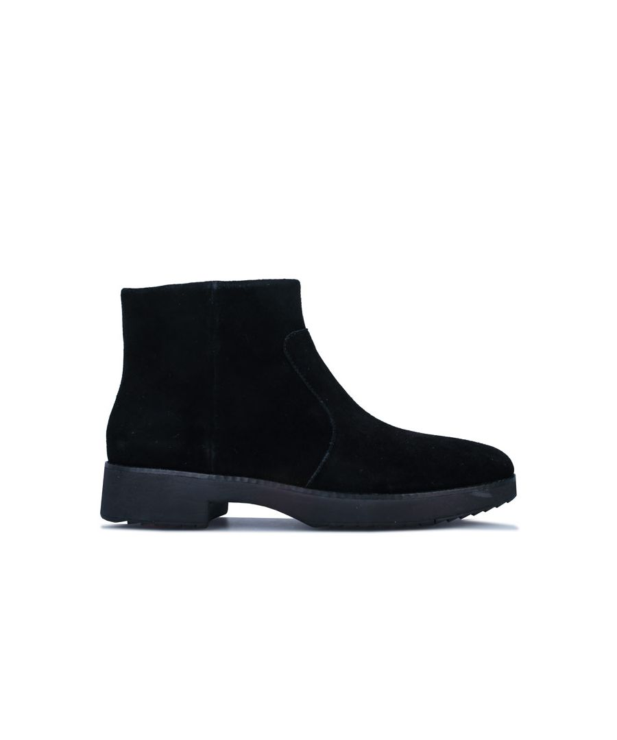 Image for Women's Fit Flop Maria Suede Ankle Boots in Black