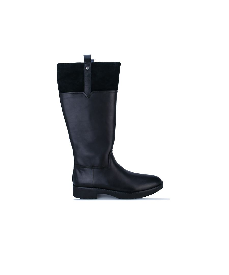 Image for Women's Fit Flop Signey Mixte Knee High Boots in Black