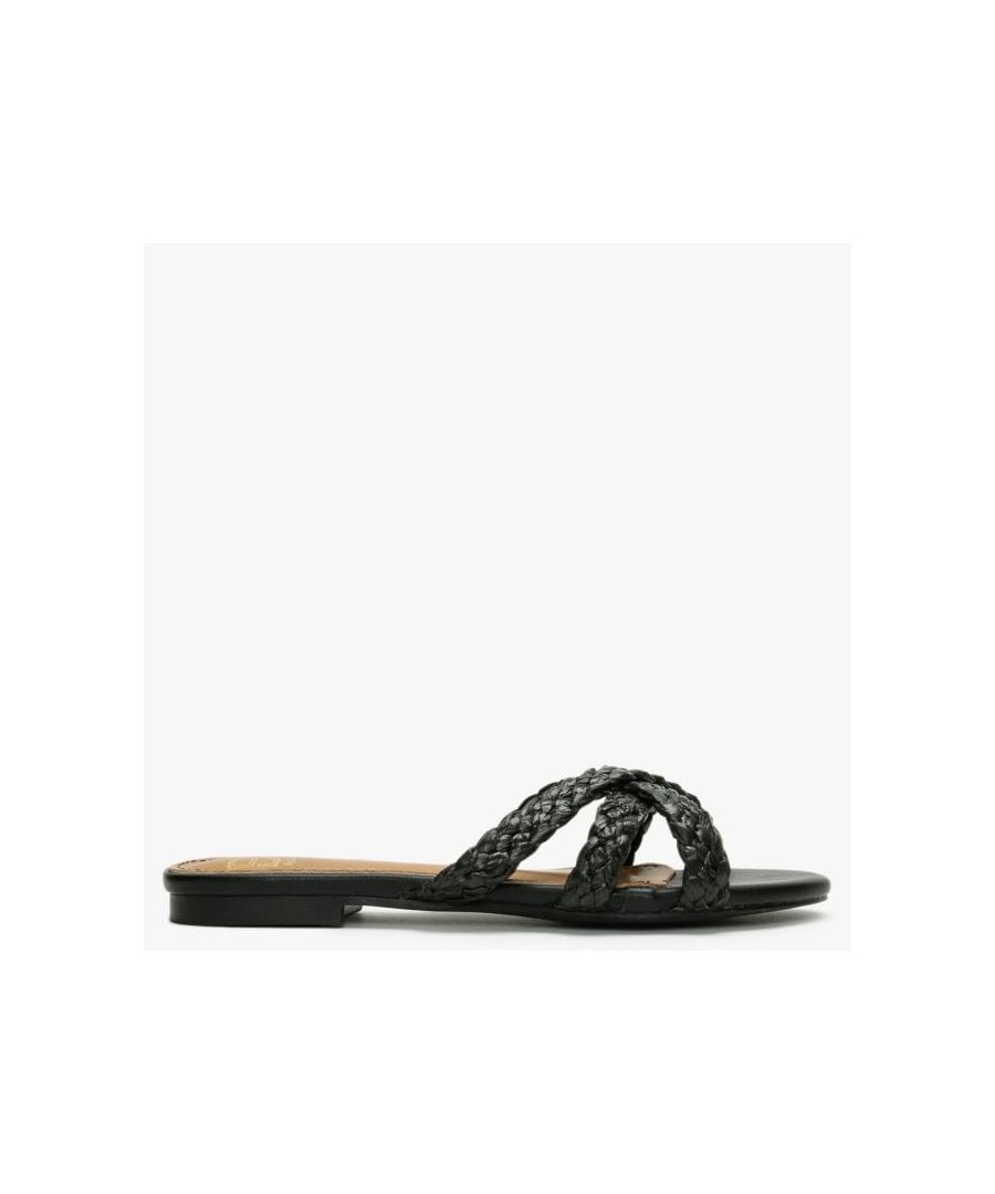 Image for DF By Daniel Yasemin Plaited Cross Strap Mules