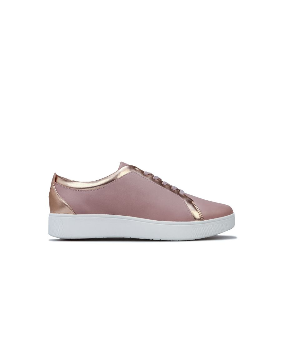 Image for Women's Fit Flop Rally Sneakers in Rose