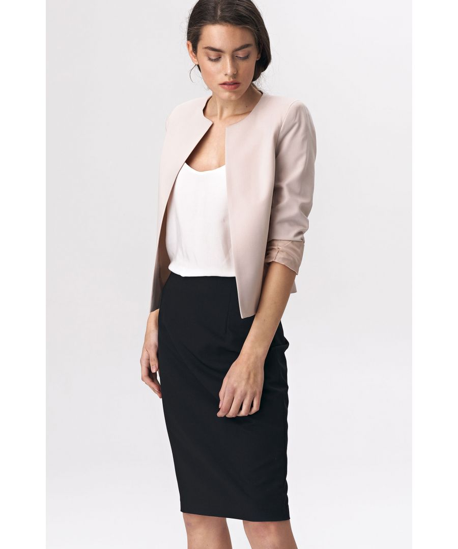 Image for Short jacket - beige