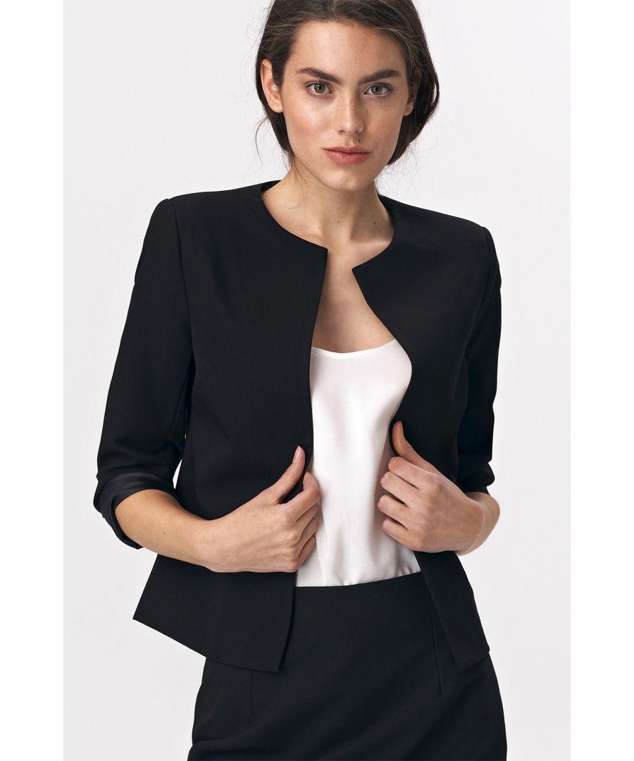 Image for Short jacket - black