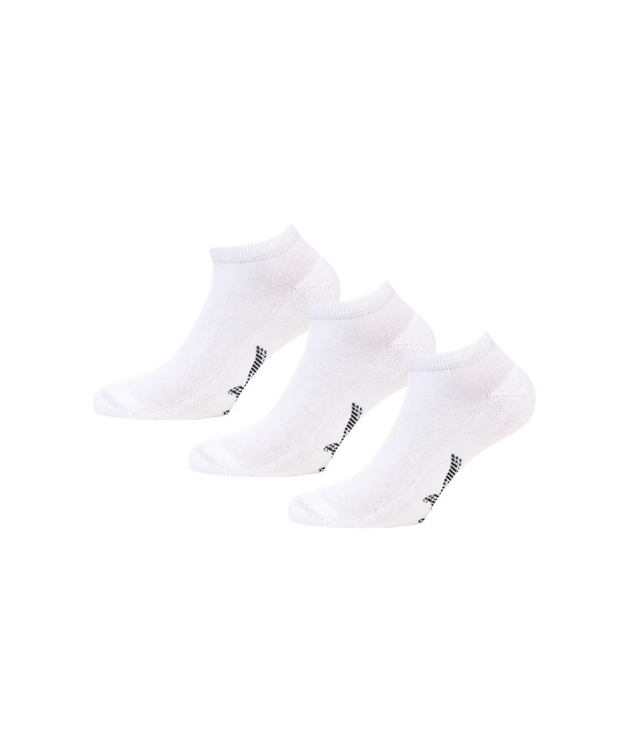 Image for Men's Lyle And Scott Zachary 3 Pack Ankle Socks in White