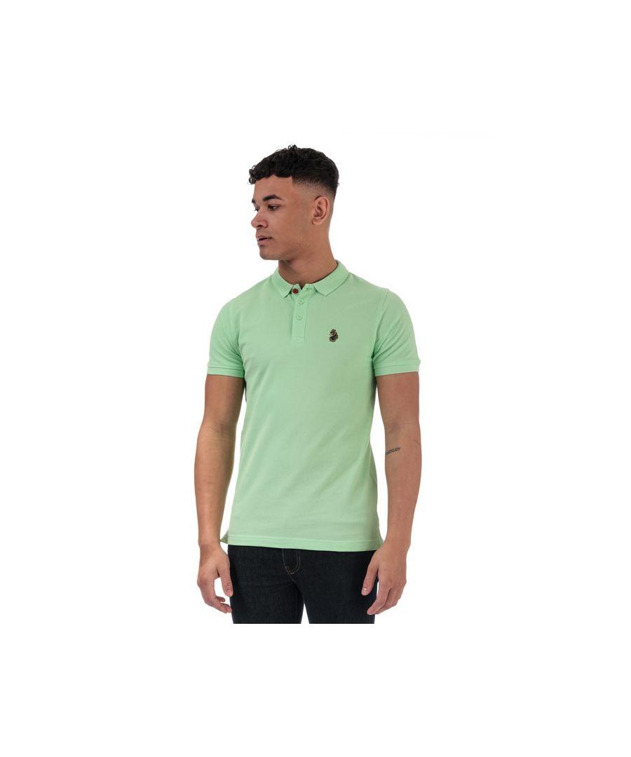Image for Men's Luke 1977 Williams Polo Shirt in Mint