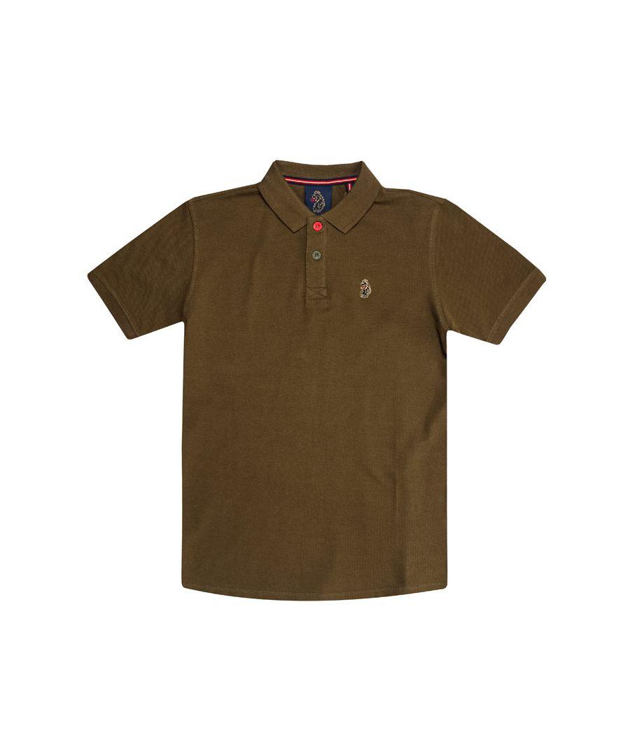 Image for Boys' Luke 1977 Junior Williams Polo Shirt in Khaki