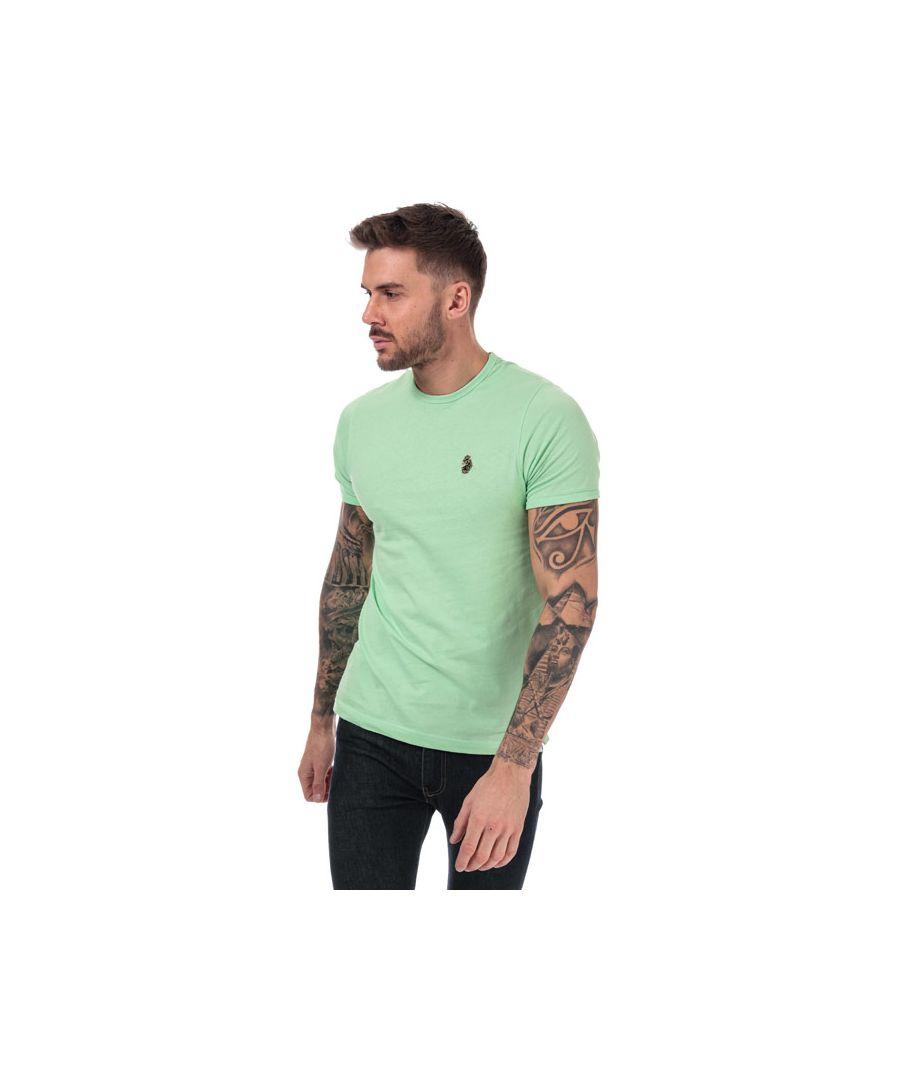 Image for Men's Luke 1977 Trouser Snake Crew Neck T-Shirt in Mint