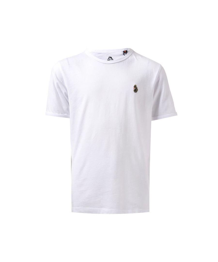 Image for Boys' Luke 1977 Junior Trouser Snake Crew T-Shirt in White