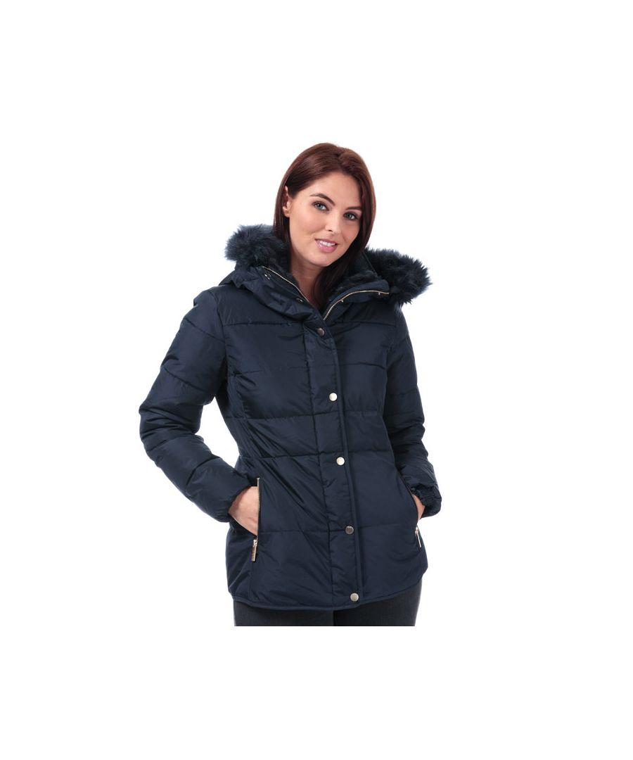 Image for Women's Elle Zoe Down Jacket in Navy