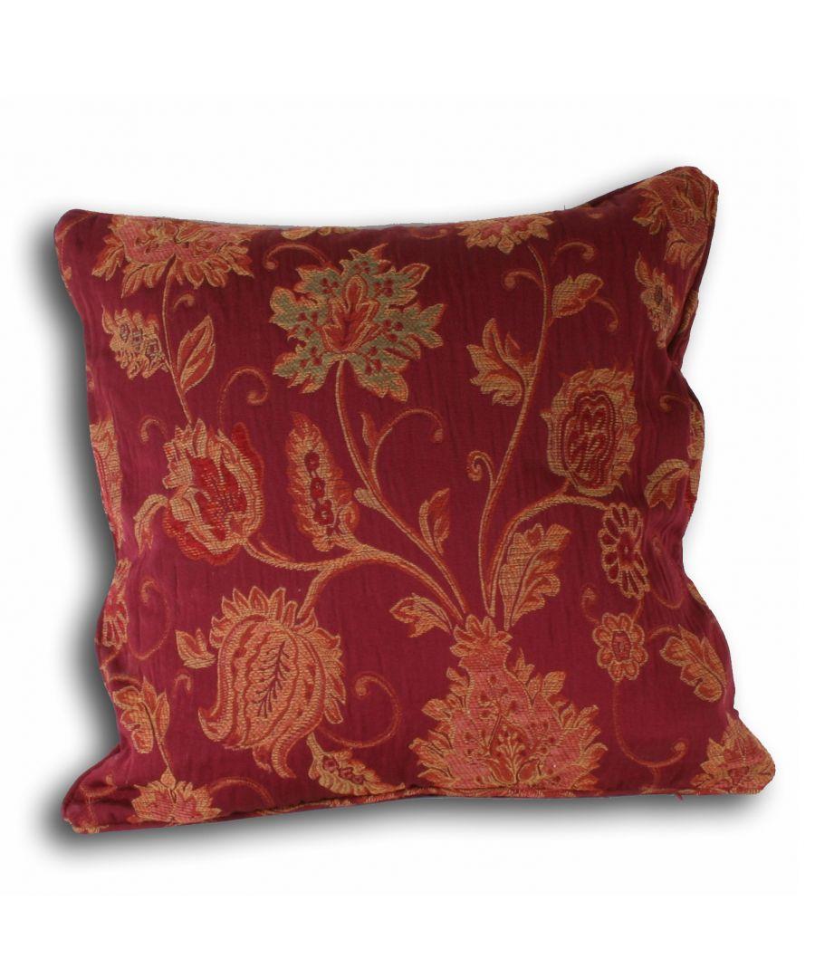 Image for Zurich Poly Cushion 45X45 Burg